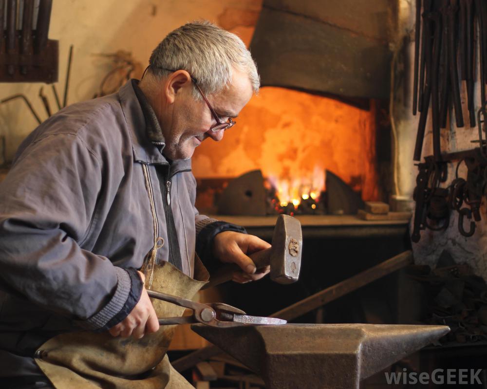 blacksmith-using-hammer-on-anvil